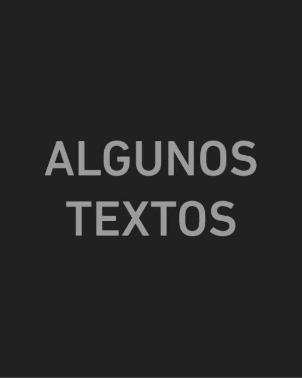 Algunos textos